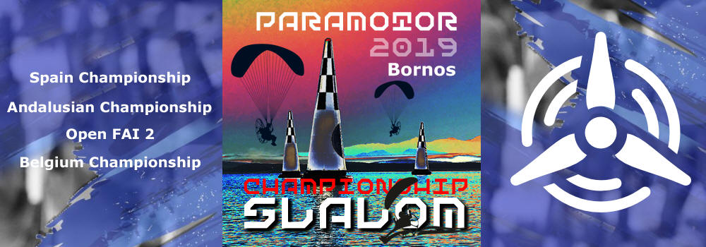 SLALOM COMPETITION OF PARAMOTOR IN BORNOS 2019